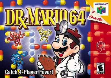 Dr. Mario 64 cover