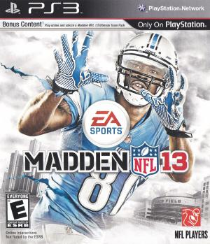 Cheapest price to Buy Madden NFL 13 on the Playstation 3 - Compare Games