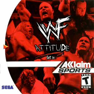 WWF Attitude / Dreamcast
