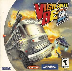 Vigilante 8 Second Offense/Dreamcast