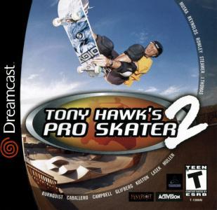 Tony Hawk's Pro Skater 2/Dreamcast