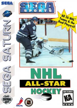 NHL All-Star Hockey/Sega Saturn