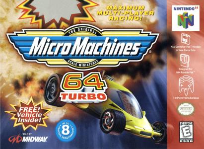 Micro Machines 64 Turbo/N64