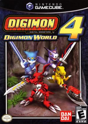 Digimon World 4/Game Cube