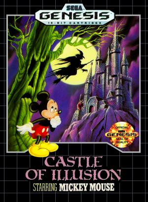 Castle of Illusion starring Mickey Mouse/Genesis