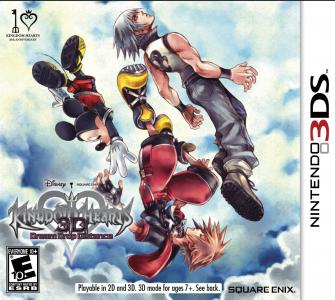 Kingdom Hearts 3D Dream Drop Distance Mark Of The Mastery Edition/3DS