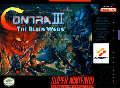 Contra III The Alien Wars/SNES