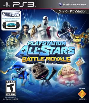 Playstation All Stars Battle Royale/PS3