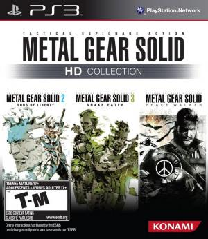Metal Gear Solid HD Collection/PS3