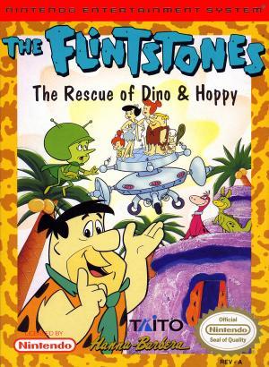 Flintstones The Rescue Of Dino And Hoppy/NES