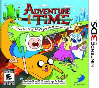 Adventure Time: Hey Ice King! Why'd You Steal Our Garbage?/3DS