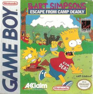 Bart Simpson's Escape From Camp Deadly/Game Boy