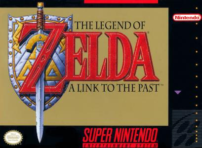 The Legend of Zelda A Link To the Past (Version Francaise) / SNES