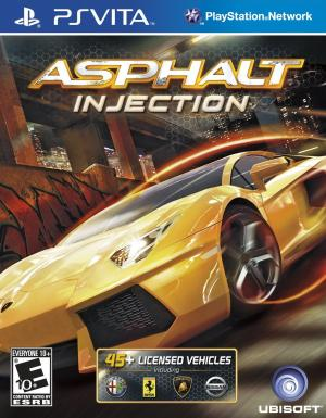 Asphalt Injection/PS Vita