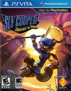 Sly Cooper Thieves In Time/PS Vita
