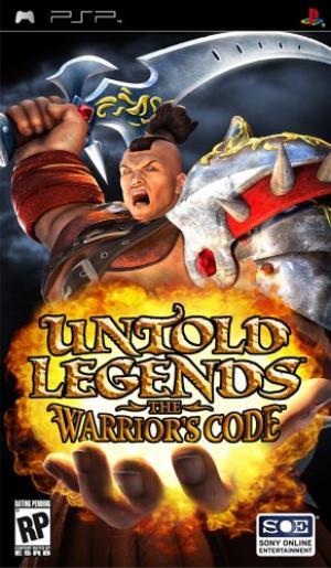 Untold Legends The Warrior's Code/PSP