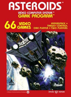 Asteroids/Atari 2600