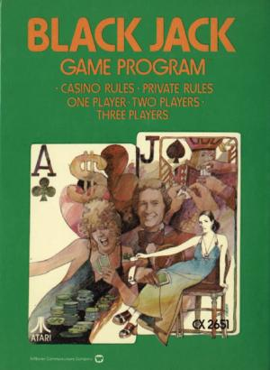 Blackjack/Atari 2600