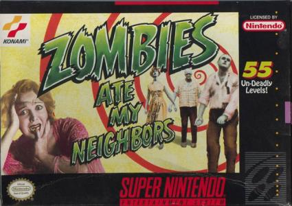 Zombies Ate My Neighbors/SNES