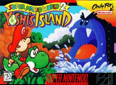 Super Mario World 2: Yoshi's Island cover
