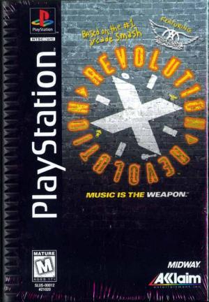 Revolution X Featuring Aerosmith/PS1