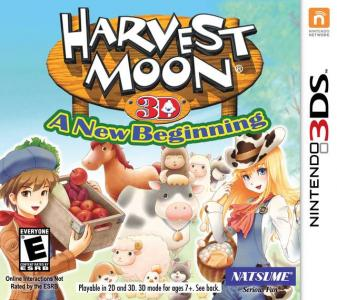 Harvest Moon 3D  A New Beginning / 3DS