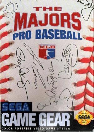 The Majors Pro Baseball/Game Gear