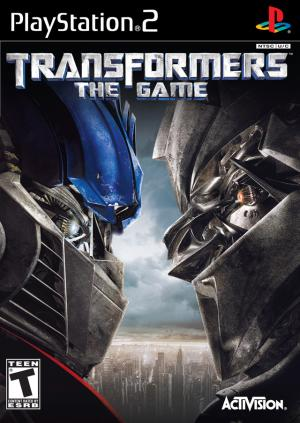Transformers The Game/PS2