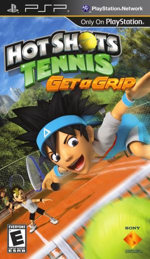 Hot Shots Tennis Get A Grip/PSP