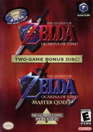 Legend of Zelda Ocarina Of Time Master Quest/GameCube