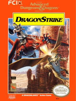 Advanced Dungeons & Dragons DragonStrike/NES