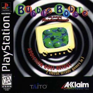 Bubble Bobble Also Featuring Rainbow Island/PS1