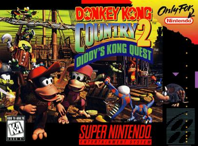 Donkey Kong Country 2 Diddy's Kong Quest/SNES