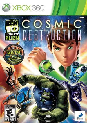 Ben 10 Ultimate Alien Cosmic Destruction / Xbox 360