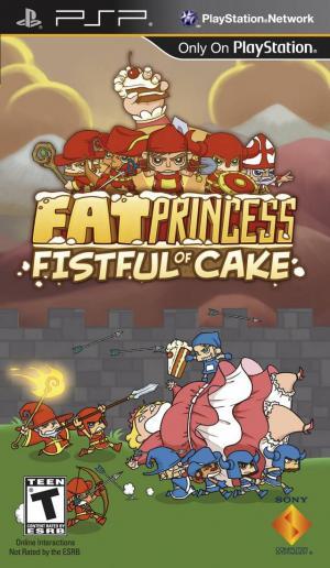 Fat Princess Fistful Of Cake/PSP