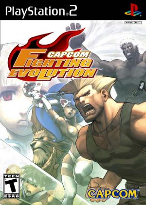 Capcom Fighting Evolution/PS2