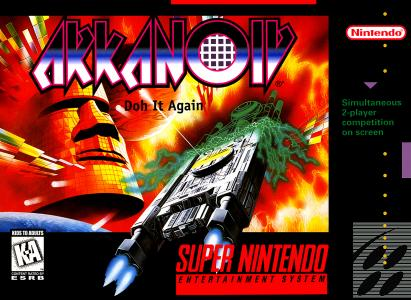 Arkanoid Doh It Again/SNES