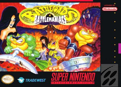 Battletoads In Battlemaniacs/SNES