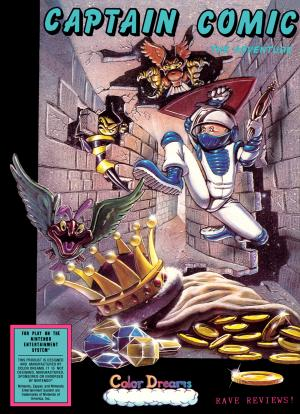 Captain Comic The Adventure/NES