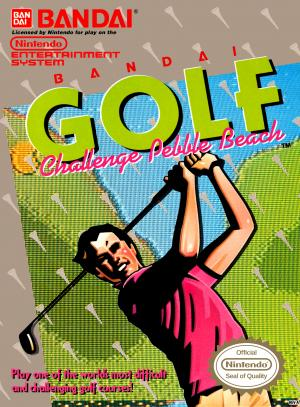 Bandai Golf Challenge Pebble Beach/NES