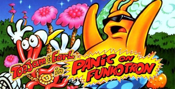 ToeJam & Earl in Panic on Funkotron cover
