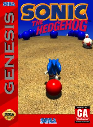 Sonic Blue Sphere cover