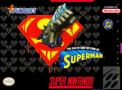 Death And Return Of Superman/SNES