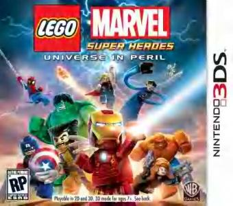 Lego Marvel Super Heroes Universe In Peril/3DS