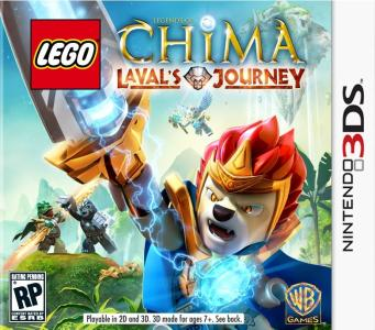 Lego Legends Of Chima Laval's Journey/3DS