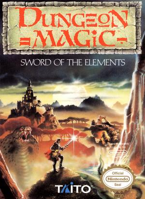 Dungeon Magic Sword of the Elements/NES