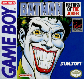 Batman Return of the Joker /Game Boy