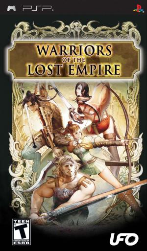 Warriors of the Lost Empire / PSP