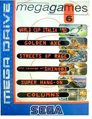 Sega Megagames 6/Genesis