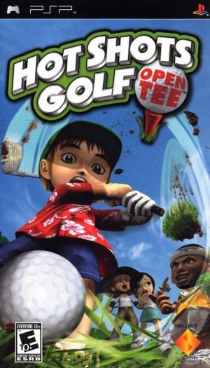 Hot Shots Golf Open Tee/PSP
